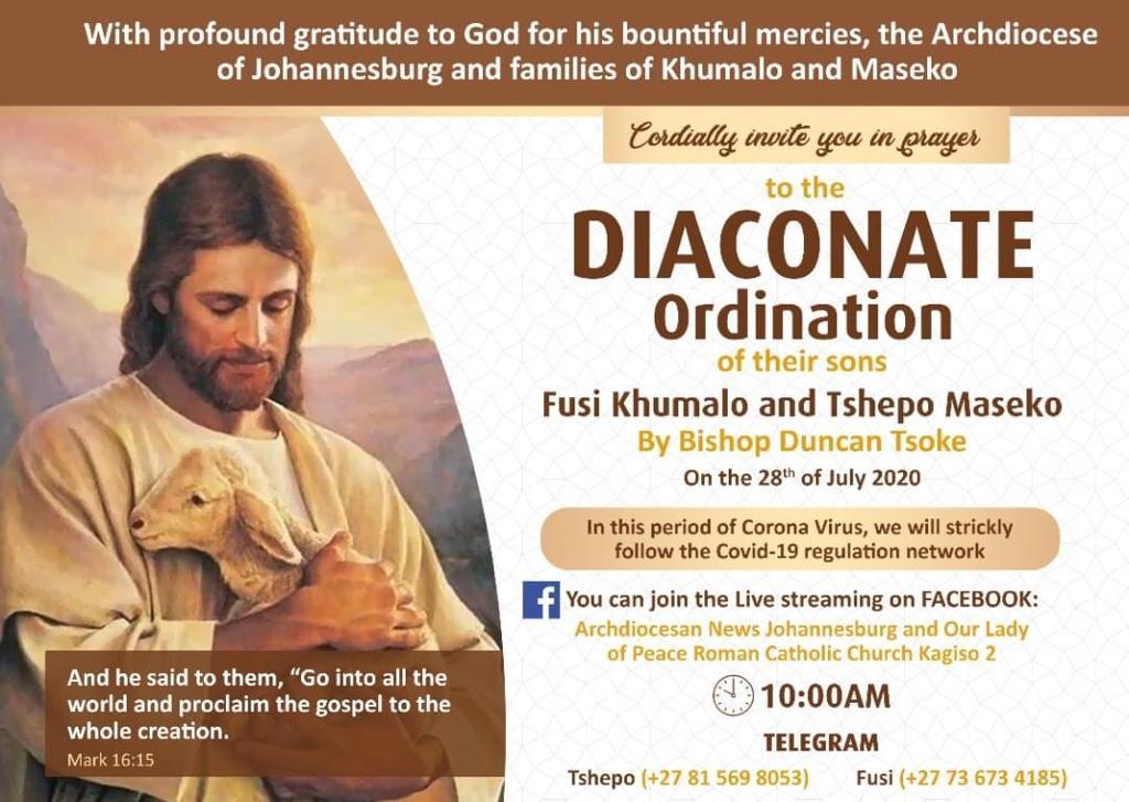 ordination july 2020